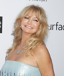 Goldie Hawn arrives at the amfAR Inspiration Gala on December 12, 2013 in Hollywood, California. Francis Specker /Landov