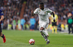 March 2, 2019 - Madrid, Spain - Real Madrid CF's Vinicius Jr during La Liga match between Real Madrid and FC  Barcelona at Santiago BernabÈu in Madrid..Final Score: Real Madrid 0 - 1 FC Barcelona (Credit Image: © Manu Reino/SOPA Images via ZUMA Wire)