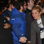 Anne-Marie Duff attend the Company - Opening Night at Gielgud Theatre, London, UK. 17 October 2018.