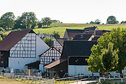 Weiler Höchst-Forstel, Odenwald, Naturpark Bergstraße-Odenwald, Hessen, Deutschland | village Höchst-Forstel, Odenwald, Hesse, Germany