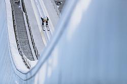 01.01.2021, Olympiaschanze, Garmisch Partenkirchen, GER, FIS Weltcup Skisprung, Vierschanzentournee, Garmisch Partenkirchen, Einzelbewerb, Herren, im Bild Domen Prevc (SLO) // Domen Prevc of Slovenia during the men's individual competition for the Four Hills Tournament of FIS Ski Jumping World Cup at the Olympiaschanze in Garmisch Partenkirchen, Germany on 2021/01/01. EXPA Pictures © 2020, PhotoCredit: EXPA/ JFK