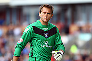 Birmingham City Goalkeeper Tomasz Kuszczak looks on. Skybet football league championship match, Burnley  v Birmingham City at Turf Moor in Burnley, Lancs on Saturday 15th August 2015.<br /> pic by Chris Stading, Andrew Orchard sports photography.