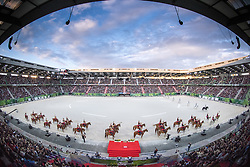 The Republican Guard - Opening Ceremony - Alltech FEI World Equestrian Games™ 2014 - Normandy, France.<br /> © Hippo Foto Team - Jon Stroud<br /> 24/06/14