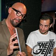 NLD/Amsterdam/20110823 - Presentatie Samsung Galaxy Tab, Maik de Boer en Valerio Zeno