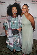 NEW YORK, NEW YORK-JUNE 4: (L-R) Actress/Philanthropist Sherry Bronfman and Chef Leslie Parks  attend the 2019 Gordon Parks Foundation Awards Dinner and Auction Red Carpet celebrating the Arts & Social Justice held at Cipriani 42nd Street on June 4, 2019 in New York City.  (photo by terrence jennings/terrencejennings.com)