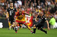 FOOTBALL - FRENCH CHAMPIONSHIP 2010/2011 - L1 - RC LENS v LILLE OSC - 11/09/2010 - PHOTO ERIC BRETAGNON / DPPI - TOUFILOU MAOULIDA (LENS)