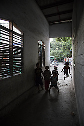 April 29, 2017 - North Jakarta, Jakarta, Indonesia - Jakarta, Indonesia, 29 April 2107 : Kampung Tongkol is villages like many other villages on the river side of Ciliwung River in Jakarta. The different is that this villages manage to prevent them from demolition as part of Ciliwung River Normalization by Basuki Tjahaja Purnama known as Ahok administration. Mr. Gugun the PIC of the village cilliwung river project at the village to a Japan Reporter during the interview that it need the pure cooperation from the people at the village to bring the awareness together about the important of the river to the poeple at the village. With his hard work with his team, Mr. Gugun manage to bring the are at Kampung Tongkol  more cleaner and people at the village more aware to the important of the river to them by not throwing garbage again to the river and giving space to the river to breath. The Project at Kampung Tongkol can be good example for all village that stand along the river side of ciliwung river in Jakarta. (Credit Image: © Donal Husni via ZUMA Wire)