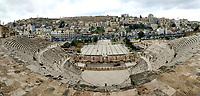 Roman Amphitheater, Amman Jordan photo by James Jordan
