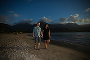 Trip to Kauai for portrait session with Holly and Matt.