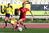 Fifa Womans World Cup Canada 2015 - Preview //<br /> Cyprus Cup 2015 Tournament ( Gsz Stadium Larnaca  - Cyprus ) - <br /> Canada vs South Korea 1-0  //  Josee Belanger of Canada
