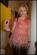 IRINA GOUDKOVA, Sotheby's Frieze week party. New Bond St. London. 15 October 2014.