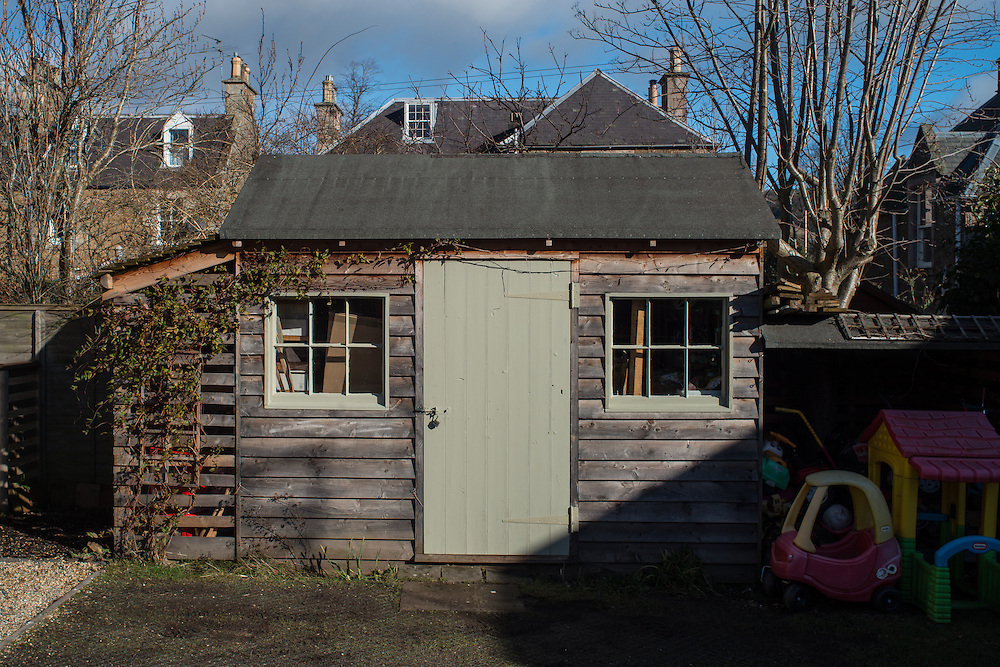 Photographs of Madras Cottage, in Melrose.