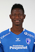 Issouf Paro during Photoshooting of Niort for new season 2017/2018 on September 12, 2017 in Niort, France. <br /> Photo : CNFC / Icon Sport