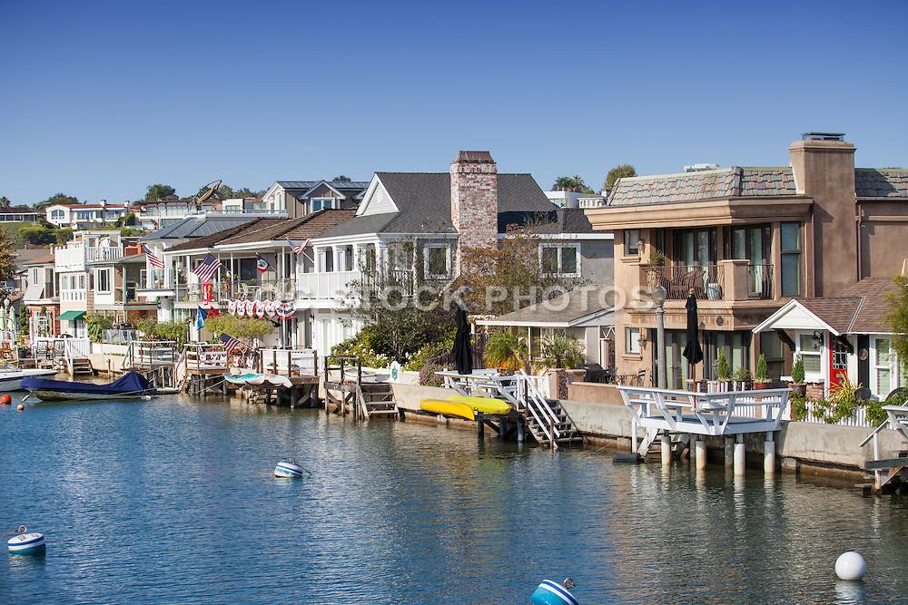 Waterfront Homes of Balboa Island Newport Beach