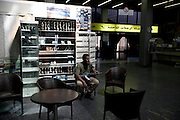 Sco0033837 .  Daily Telegraph..A rebel fighter sits in the Tripoli airport terminal...Tripoli 28 August 2011. ............Not Getty.Not Reuters.Not AP.Not Reuters.Not PA