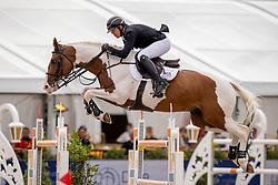 Hemeryck Rik, BEL, Ulyss Morinda<br /> Belgisch Kampioenschap Jumping  <br /> Lanaken 2020<br /> © Hippo Foto - Dirk Caremans<br /> 03/09/2020