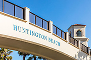 Huntington Beach Pedestrian Bridge Closeup