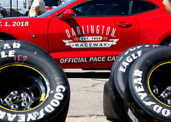 September 1, 2018 - Darlington, SC, U.S. - DARLINGTON, SC - SEPTEMBER 01: Darlington Raceway Pace Car during qualifying for the 69th annual Bojangles Southern 500 on Saturday September 1, 2018 at Darlington Raceway in Darlington South Carolina (Photo by Jeff Robinson/Icon Sportswire) (Credit Image: © Jeff Robinson/Icon SMI via ZUMA Press)
