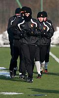 11.02.2012 Bialystok Trening zespolu Mlodej Ekstraklasy Jagiellonii Bialystok fot Michal Kosc / AGENCJA WSCHOD