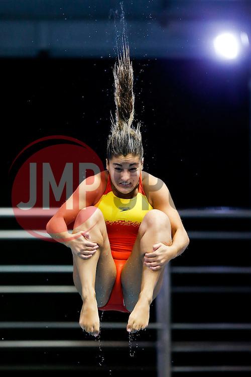 Rocio Velazquez Roldanof Spain practices for the Womens 3m Springboard - Photo mandatory by-line: Rogan Thomson/JMP - 07966 386802 - 23/08/2014 - SPORT - DIVING - Berlin, Germany - SSE im Europa-Sportpark - 32nd LEN European Swimming Championships 2014 - Day 11.