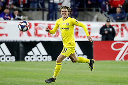 May 15, 2019 - Foxborough, MA, U.S. - FOXBOROUGH, MA - MAY 15: Chelsea FC midfielder Conor Gallagher (51) during the Final Whistle on Hate match between the New England Revolution and Chelsea Football Club on May 15, 2019, at Gillette Stadium in Foxborough, Massachusetts. (Photo by Fred Kfoury III/Icon Sportswire) (Credit Image: © Fred Kfoury Iii/Icon SMI via ZUMA Press)