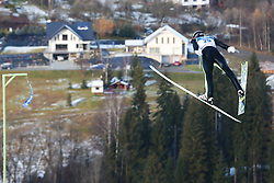 November 19, 2017 - Wisla, Poland - Markus Schiffner (AUT), competes in the individual competition during the FIS Ski Jumping World Cup on November 19, 2017 in Wisla, Poland. (Credit Image: © Foto Olimpik/NurPhoto via ZUMA Press)