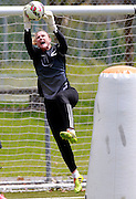 Keeper Rebecca Rolls in action. Football Ferns Media and Training Session, QBE Stadium Auckland, Wednesday 12th November 2014. Photo: Shane Wenzlick