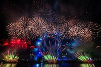 New Years eve fireworks , United Kingdom - 01 Jan 2020 photo by michael Palmer