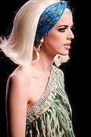Agyness Deyn walks the runway  at the Christian Dior Cruise Collection 2008 Fashion Show