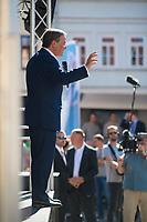 Apolda, 03.09.2021: Wahlkampfveranstaltung der CDU mit Armin Laschet, Kanzlerkandidat und CDU-Bundesvorsitzender, auf dem Marktplatz in Apolda.