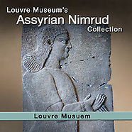 Ancient Assyrian  palace of Assurbanipal sculpture - Louvre - Pictures images photos