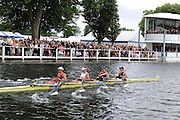 Henley, GREAT BRITAIN,  Princess Grace Challenge Cup. Gloucester RC and Leander Club. Bow Annie VERNON, Beth RODFORD,  Anna WATKINS [ BEBINGTON] and Katherine GRAINGER. 2010 Henley Royal Regatta. 15:27:15   Sunday  04/07/2010.  [Mandatory Credit: Peter Spurrier / Intersport-images] Rowing Courses, Henley Reach, Henley, ENGLAND . HRR.