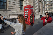 Tourists, Westminster Sq. London13 March 2017