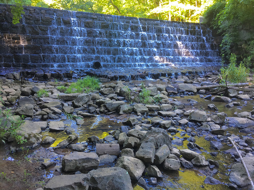 Waterfalls, Antietam Lake water source, Antietam Creek, Berks Co., PA