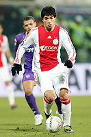 Fotball<br /> Italia<br /> Foto: Inside/Digitalsport<br /> NORWAY ONLY<br /> <br /> Luis Suarez (Ajax)<br /> <br /> 19.02.2009<br /> Uefa Cup 2008/2009<br /> Fiorentina v Ajax (0-1)