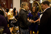 HANNAH SANDLING;;  RICK PARFITT JNR.; TAMARA ECCLESTONE; ROB MONTAGUE;, B Never Too Busy To Be Beautiful - Oxford St. Store opening. 8 October 2008 *** Local Caption *** -DO NOT ARCHIVE-© Copyright Photograph by Dafydd Jones. 248 Clapham Rd. London SW9 0PZ. Tel 0207 820 0771. www.dafjones.com.