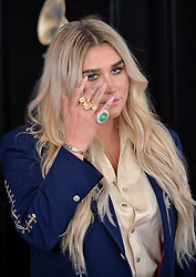 Kesha attends the 60th Annual GRAMMY Awards at Madison Square Garden on January 28, 2018 in New York City, NY, USA. Photo by Lionel Hahn/ABACAPRESS.COM