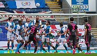 Leeds United's Kalvin Phillips scores his side's second goal from a free kick<br /> <br /> Photographer Alex Dodd/CameraSport<br /> <br /> The EFL Sky Bet Championship - Blackburn Rovers v Leeds United - Saturday 4th July 2020 - Ewood Park - Blackburn<br /> <br /> World Copyright © 2020 CameraSport. All rights reserved. 43 Linden Ave. Countesthorpe. Leicester. England. LE8 5PG - Tel: +44 (0) 116 277 4147 - admin@camerasport.com - www.camerasport.com
