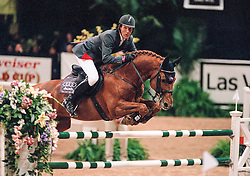 Beerbaum Ludger, GER, Goldfever<br /> World Cup Final Jumping - Las Vegas 2000<br /> © Hippo Foto - Dirk Caremans