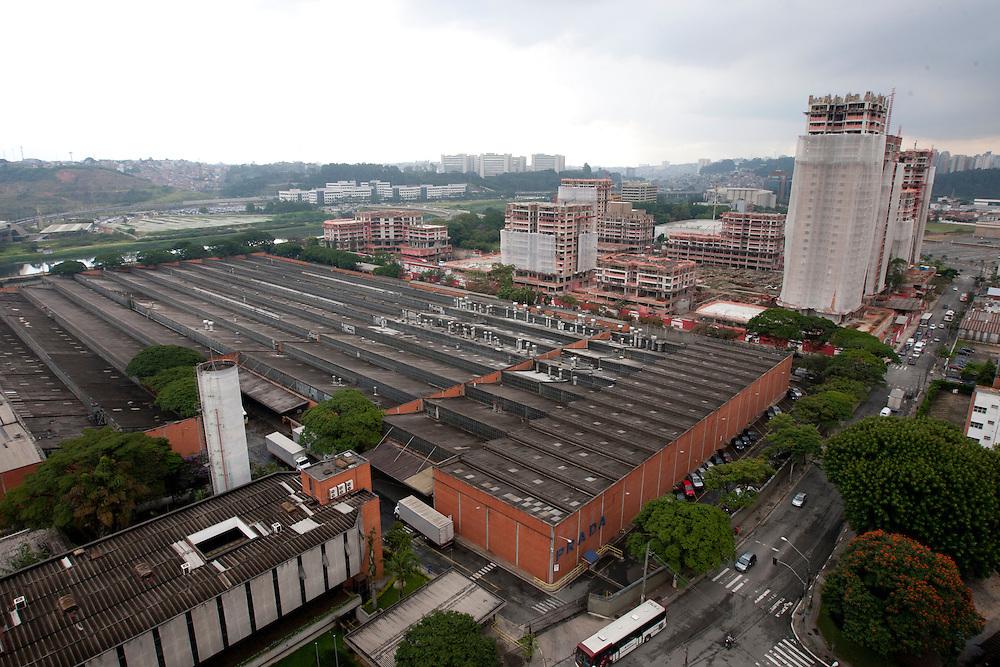 Sao Paulo_SP, Brasil...Unidade Prada da CSN em Santo Amaro, Sao Paulo...CNS industry in Santo Amaro, Sao Paulo...Foto:  VICTOR SCHWANER / NITRO