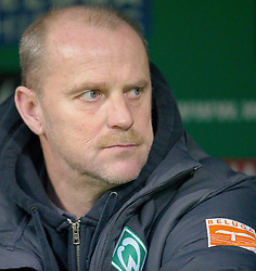 27.02.2011, Weserstadion, Bremen, GER, 1.FBL, Werder Bremen vs Bayer 04 Leverkusen, im Bild Thomas Schaaf ( Werder  - Trainer  COACH)    EXPA Pictures © 2011, PhotoCredit: EXPA/ nph/  Kokenge       ****** out of GER / SWE / CRO  / BEL ******