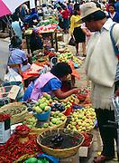 Local market, San Cristobal de las Casas, Chiapas, Mexico