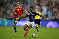 Fotball<br /> Frankrike<br /> Foto: Dppi/Digitalsport<br /> NORWAY ONLY<br /> <br /> FOOTBALL - UEFA EURO 2012 - QUALIFYING - GROUP D - FRANKRIKE v HVITERUSSLAND - 3/09/2010<br /> <br /> ABOU DIABY (FRA) / YAN TIGOREV (BIE)