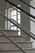Detail from the staircase in Ghent's Design Museum