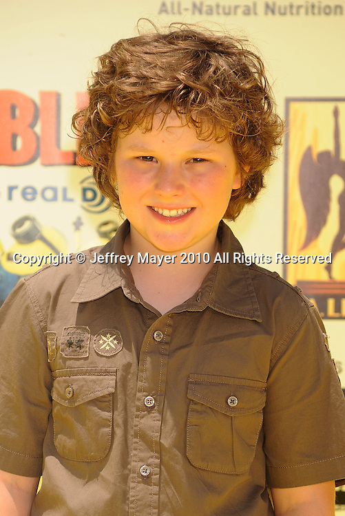 """LOS ANGELES, CA. - June 27: Nolan Gould arrives at the 2010 Los Angeles Film Festival - """"Despicable Me"""" Premiere on June 27, 2010 in Los Angeles, California."""