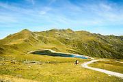 Konigsleiten mountain top. Zillertal, Tyrol, Austria