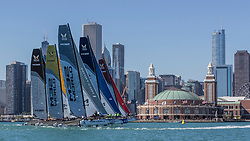 WMRT Chicago Match Cup, Chicago Yacht Club, Chicago, IL. 28th September 2017.