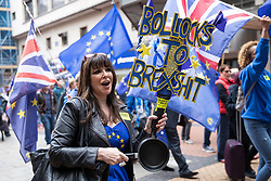 September 30, 2018 - Birmingham, United Kingdom - Demonstrators march through Birmingham City Centre to protest Brexit during Day 1 of the UK Conservative Party Conference. (Credit Image: © Joel Goodman/London News Pictures via ZUMA Wire)