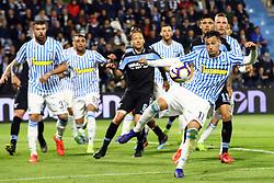 """Foto LaPresse/Filippo Rubin<br /> 03/04/2019 Ferrara (Italia)<br /> Sport Calcio<br /> Spal - Lazio - Campionato di calcio Serie A 2018/2019 - Stadio """"Paolo Mazza""""<br /> Nella foto: ALESSANDRO MURGIA (SPAL)<br /> <br /> Photo LaPresse/Filippo Rubin<br /> April 03, 2019 Ferrara (Italy)<br /> Sport Soccer<br /> Spal vs Lazio - Italian Football Championship League A 2018/2019 - """"Paolo Mazza"""" Stadium <br /> In the pic: ALESSANDRO MURGIA (SPAL)"""