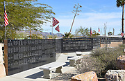 Vietnam Remembrance Wall at General Patton Memorial Museum